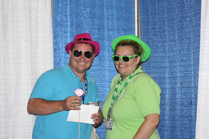 8-18 Trade Show Photo Booth Pictures