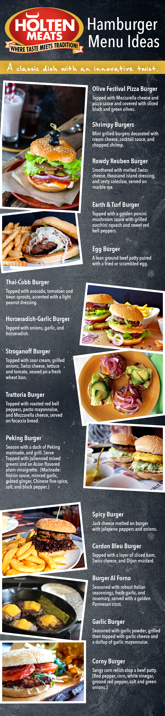 9-18 hamburger recipes