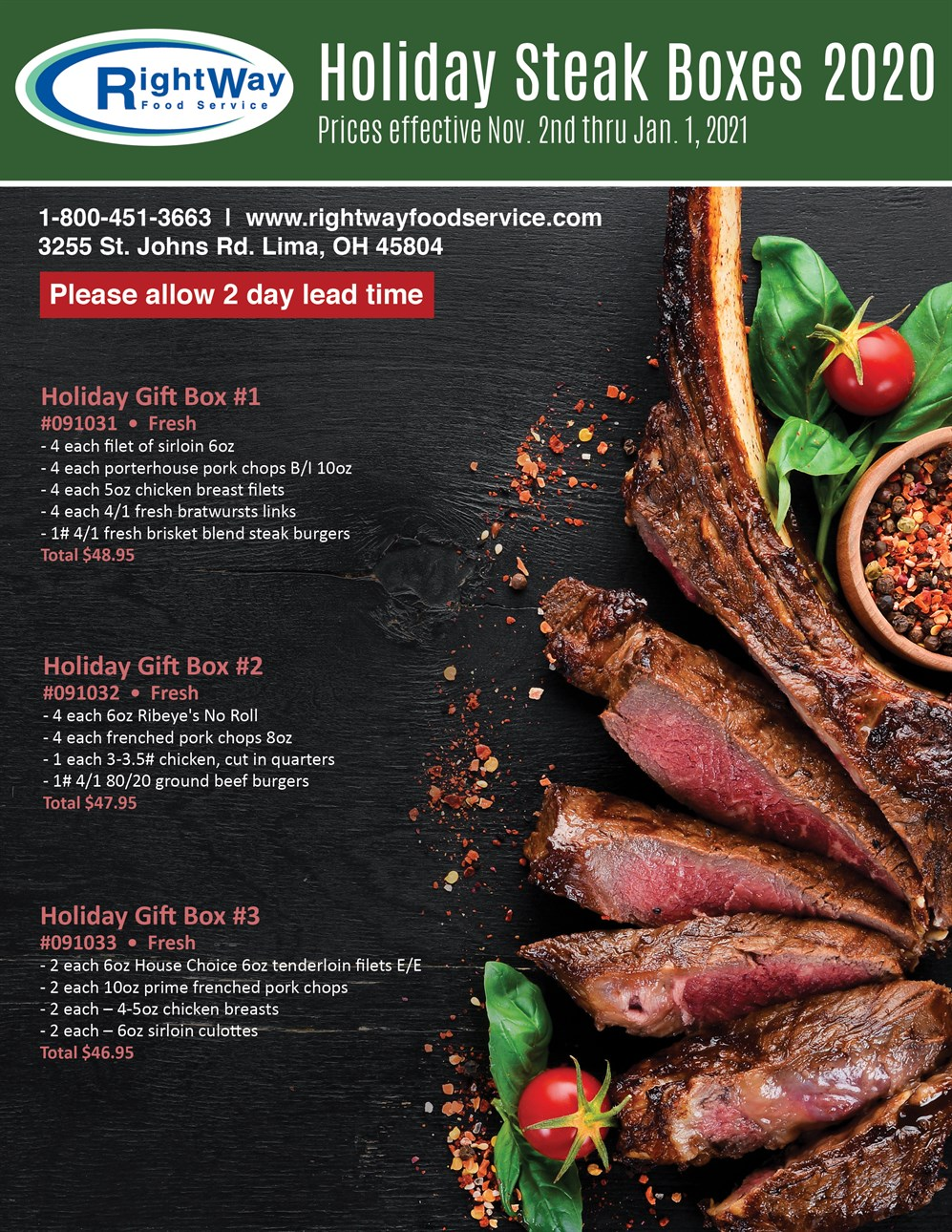 11-20 holiday steak boxes