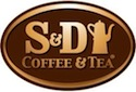s and d coffee and tea logo