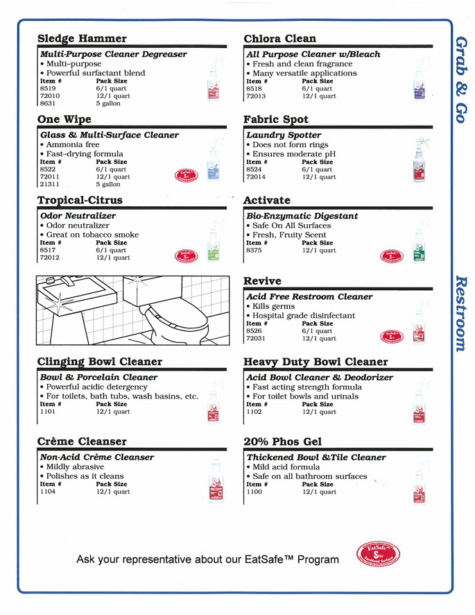 Solv Cleaning Products | Lima, Ohio | RightWay Food Service