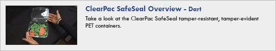 dart - ClearPac SafeSeal Overview