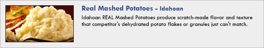 idahoan - Real Mashed Potatoes