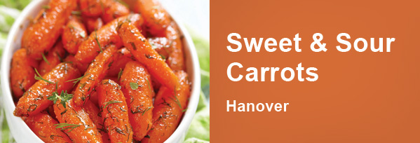 sweet & sour carrots - Hanover