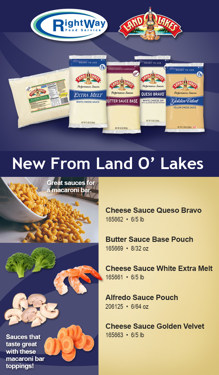 12-16 Land O' Lakes new sauces