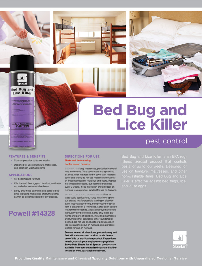 Bed Bug and Lice